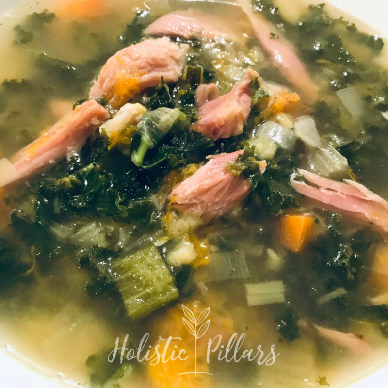 Ham Hock and Vegetable Soup