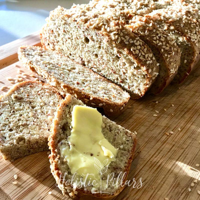 grain free cauliflower bread