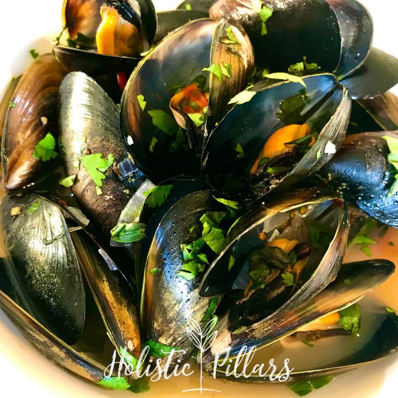 herbed mussels recipe